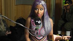Nicki Minaj talks to Westwood