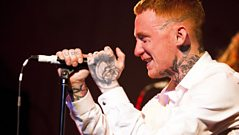 Frank Carter speaks to Daniel P.