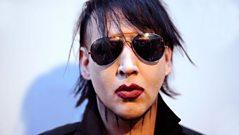 Marilyn Manson speaks to Daniel P Carter