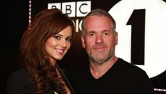 Cheryl Cole chats to Chris Moyles