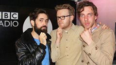 Clock Opera - Interview with Huw Stephens