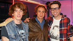 Mystery Jets Play The Pop Quiz