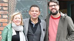 Alice Russell and Will Quantic with Craig Charles