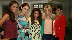The Saturdays chat to Steve Wright
