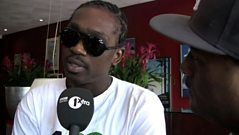 Robbo catches up with Busy Signal