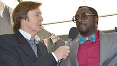 Sir Paul McCartney interviews will.i.am