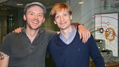 Simon Pegg and Crispian Mills
