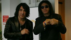 Paul Stanley and Gene Simmons of KISS