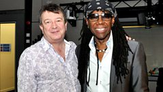 Nile Rodgers in conversation with Stuart Maconie