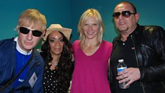 Happy Mondays live with Jo Whiley