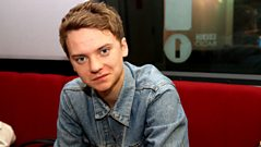 Conor Maynard leaves a message for Reggie