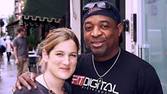 Chuck D visits Nemone for a Record Exchange