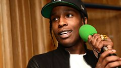 A$AP Rocky speaks to Zane Lowe