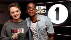 Album cover photo shoot with Conor Maynard and Reggie Yates