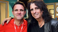 Alice Cooper in conversation with Shaun Keaveny