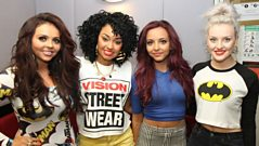 Huw tells Little Mix they're No.1