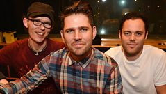 Scouting For Girls chat to Fearne Cotton