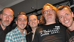 Cud join Marc Riley in the studio