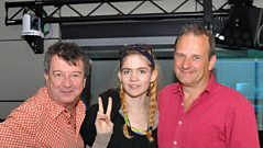 Grimes chats to Radcliffe and Maconie
