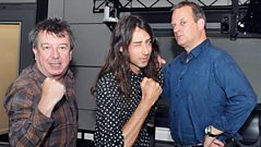 Kindness chats to Radcliffe and Maconie