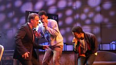 Rizzle Kicks perform for the penultimate Chris Moyles Show.