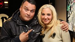 Tulisa joins Charlie Sloth in the studio!