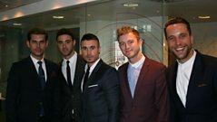 The Overtones chat to Steve Wright