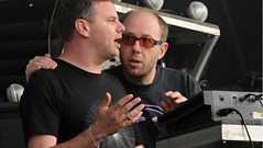 The Chemical Brothers catch up with Jaymo and Andy George
