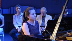 David Owen Norris works with Cathy Liu on Mendelssohn's Song Without Words