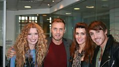 Gary Barlow and his X Factor finalists