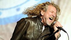 Robert Plant chats to Brian Johnson