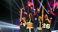 Little Mix at the BBC Radio 1's Teen Awards: 2012