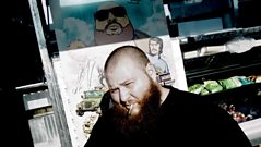 Action Bronson talks wings with Toddla
