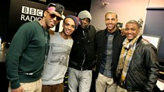 How well do JLS know their RnB Boy Bands?
