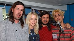 Liars speak to Lauren Laverne