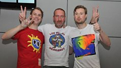 Django Django Join Marc Riley in the studio for a chat