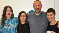 Stealing Sheep chat to Marc Riley