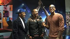 JLS chat to Reggie Yates
