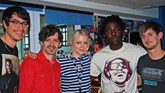 Bloc Party chat to Lauren Laverne