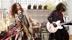 Aerosmith chat to Dermot O'Leary