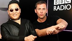 Scott chats to actual PSY