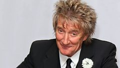 Rod Stewart joins Chris Evans live