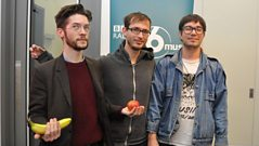 Hooded Fang join Radcliffe and Maconie in the studio