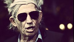 Keith Richards interview with Shaun Keaveny