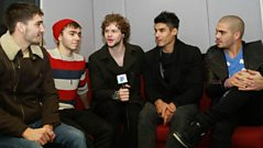 The Wanted say happy birthday to the Official Chart