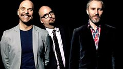 The Bad Plus join Huey in conversation