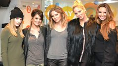 Girls Aloud chat to Steve Wright