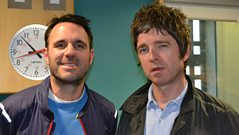 Noel Gallagher catches up with Shaun Keaveny