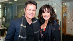 Donny and Marie Osmond chat to Steve Wright