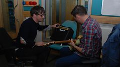 Graham Coxon chats to Shaun Keaveny